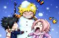 Игры Наруто битва снежками (Naruto games)