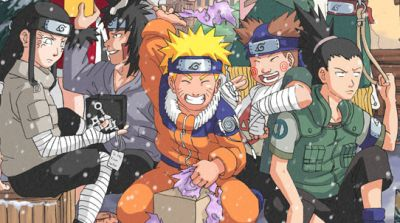 ������ �������� ���������� �� 2011 (Naruto pictures Christmas)